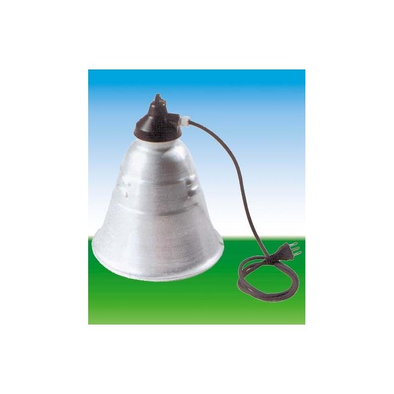 Riflettore x lampada pulcini 310 32 edilizia si for Lampada infrarossi riscaldamento pulcini