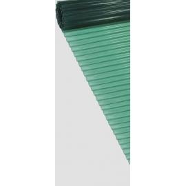 PLASTICA ONDULATA VERDE 20MT. H.250