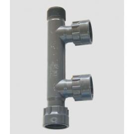 COLLETTORE ELETTROV.PVC 1 3USC. F