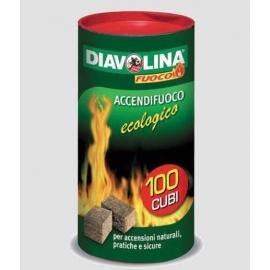 DIAVOLINA ACCENDIF.BOX 100ACC.ECOL.