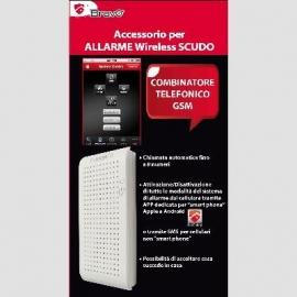 COMBINATORE TELEF.GSM X ALLAR.SCUDO